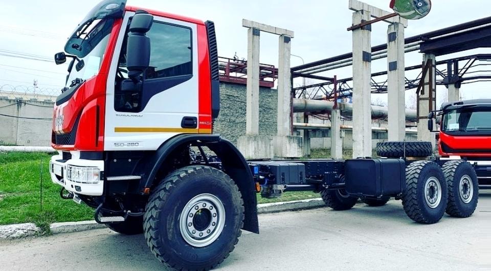ИВЕКО-АМТ поставил шасси для пожарных машин