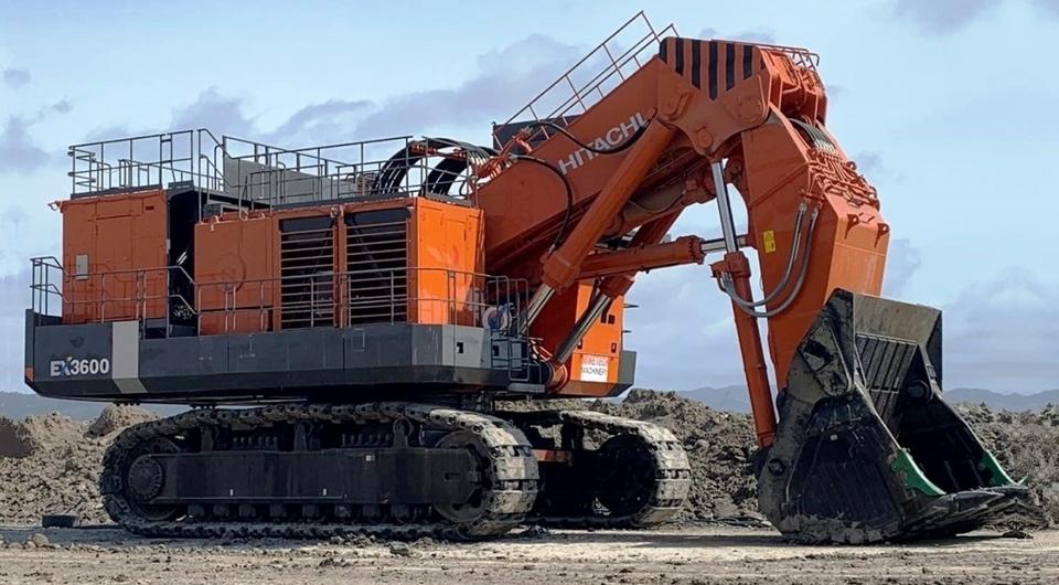 Hitachi ЕХ3600Е-6LD для Солнцевского угольного разреза