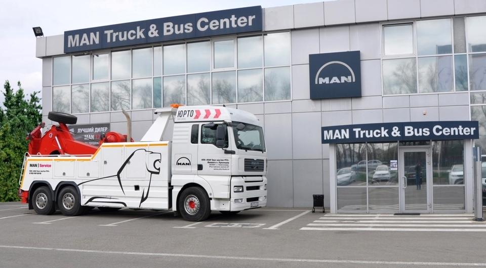 MAN запускает сервис эвакуации грузовиков на юге России