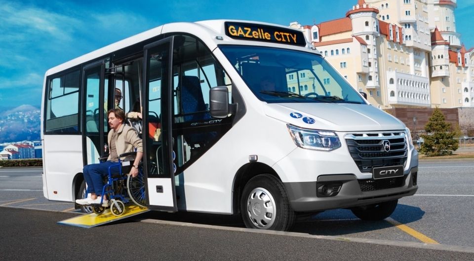 Газель City: мини-низкопольник для городских маршрутов