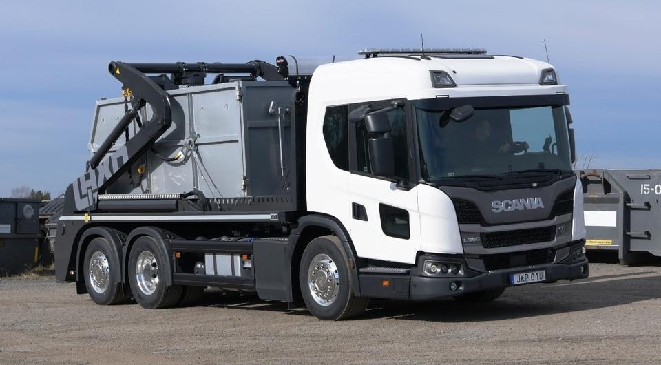 Scania L 360 в качестве бункеровоза