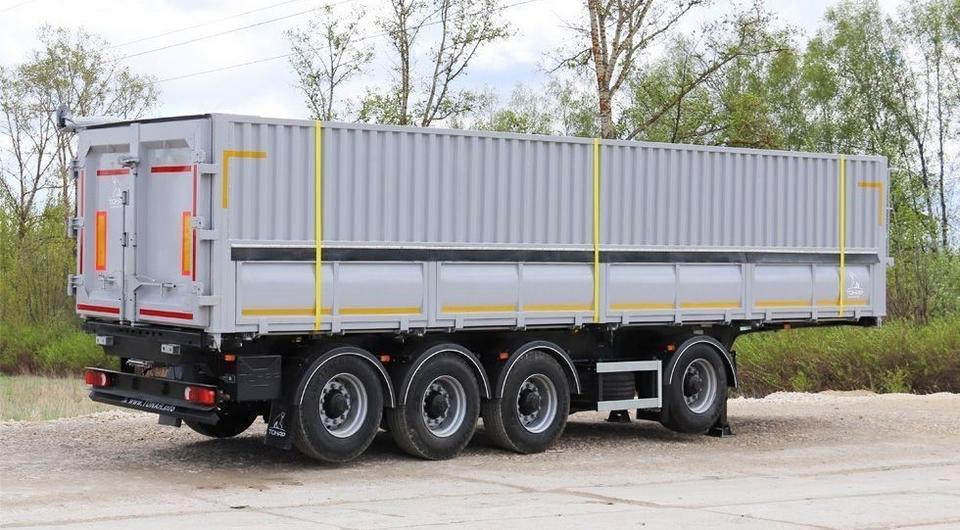 Новый четырехосный зерновоз Тонар-9598