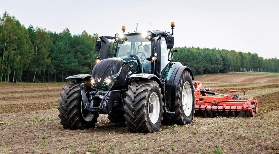 Трактор Valtra с дистанционным управлением