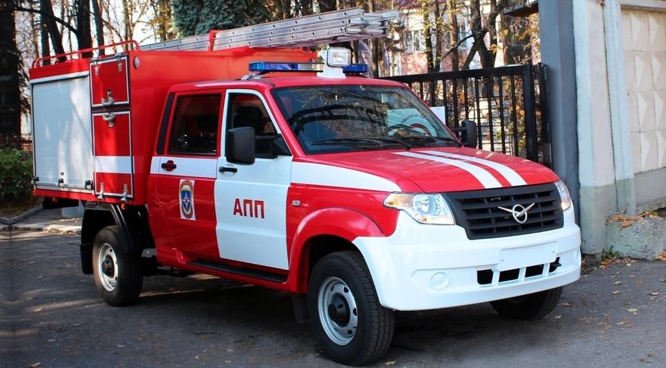 УАЗ «Профи» в роли пожарного