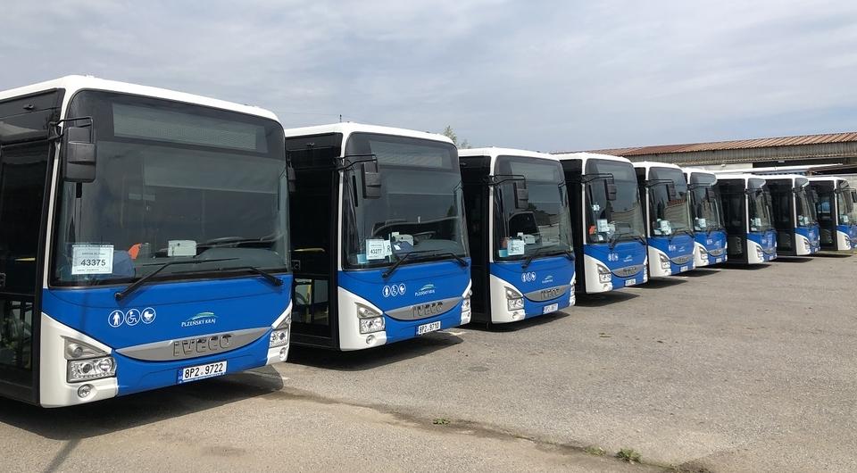 Крупная поставка автобусов IVECO Crossway в Чехию