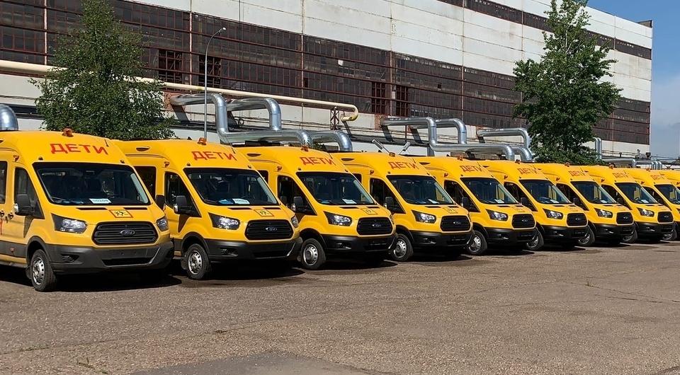 Пассажирские Ford Transit для школьников Татарстана