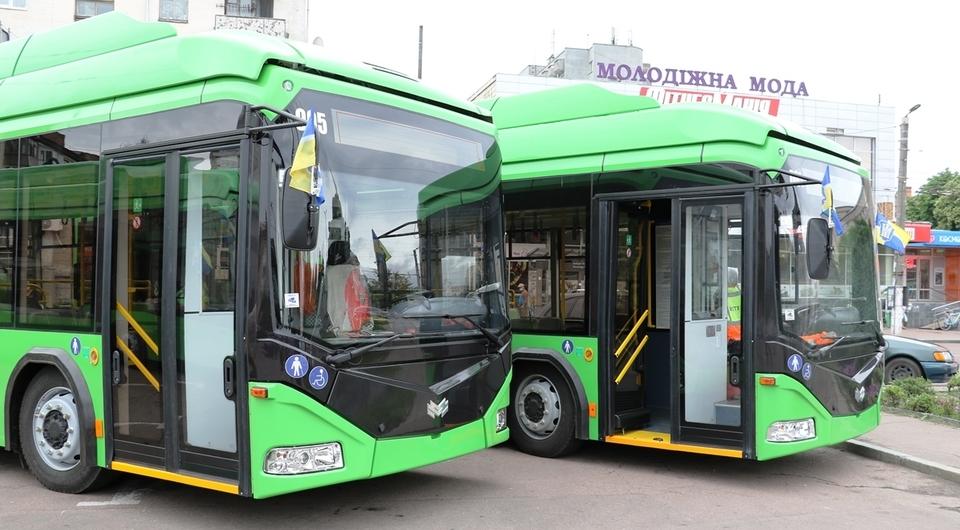 Белкоммунмаш поставил троллейбусы в Житомир