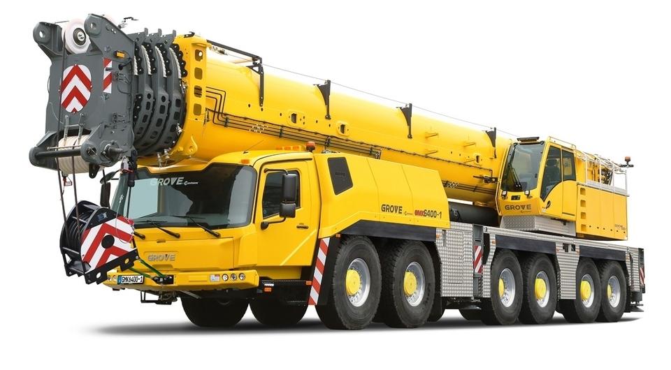 Grove GMK 6400-1: 400 тонн на крюке