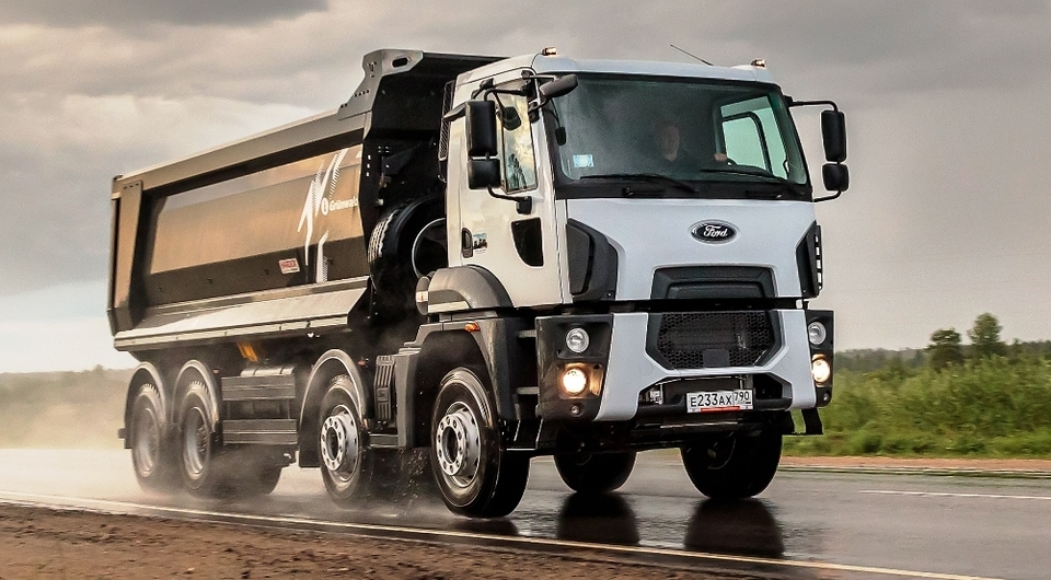 Ford Trucks: самосвал для российских заказчиков