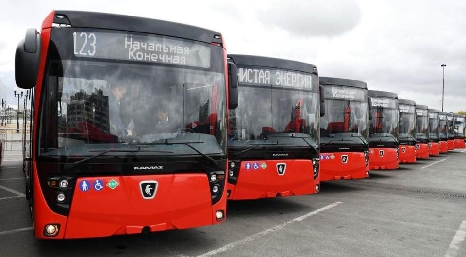 Автобусы НЕФАЗ-5299 для Казани и Екатеринбурга