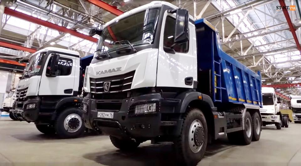 КАМАЗ-6595: подготовка производства идет полным ходом