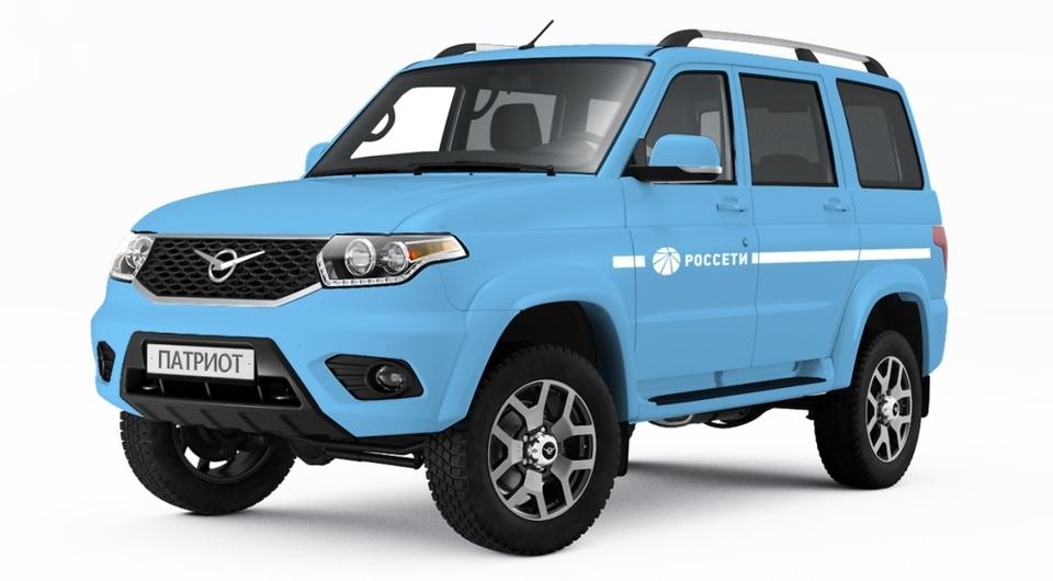 Автомобили УАЗ для холдинга «Россети»