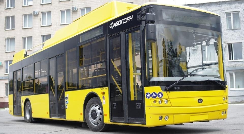 Троллейбусы «Богдан» для Полтавы