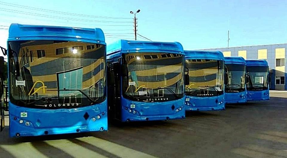 Волгабас: газовые автобусы для Новокузнецка