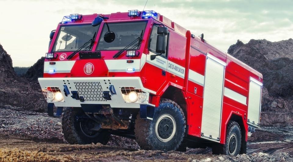 Пожарные TATRA для немецкого заказчика