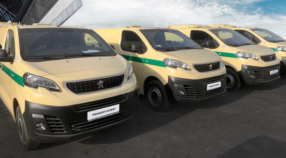 Peugeot Expert для инкассаторов Сбербанка