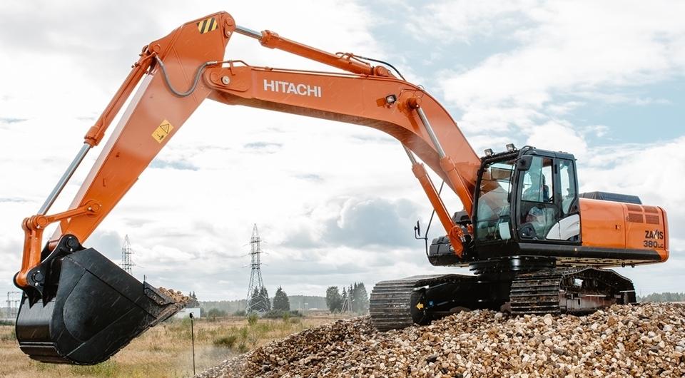 Новый экскаватор российского завода Hitachi
