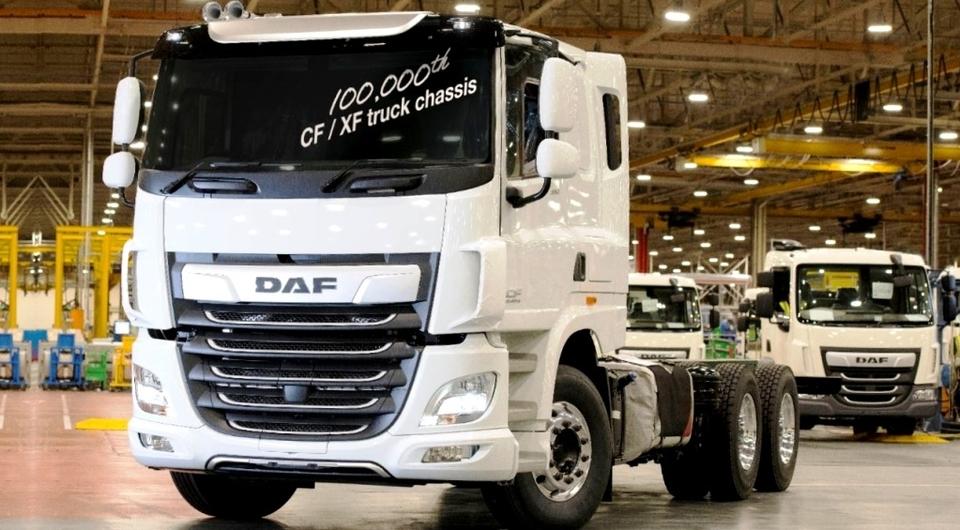 Сто тысяч DAF CF/XF на британском заводе Leyland