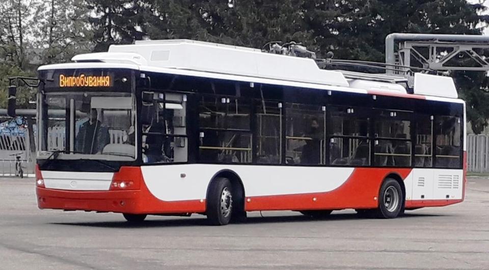 Первые два троллейбуса «Богдан» для Луцка