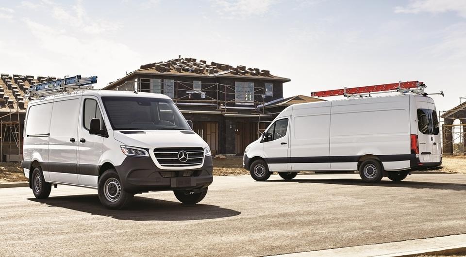 Лимитированный Mercedes-Benz Sprinter получил кондиционер