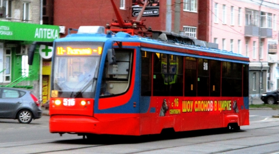 Московские трамваи для Набережных Челнов