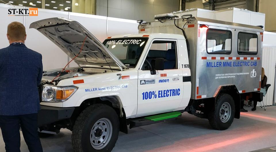 Miller Technology: подземный электрический внедорожник