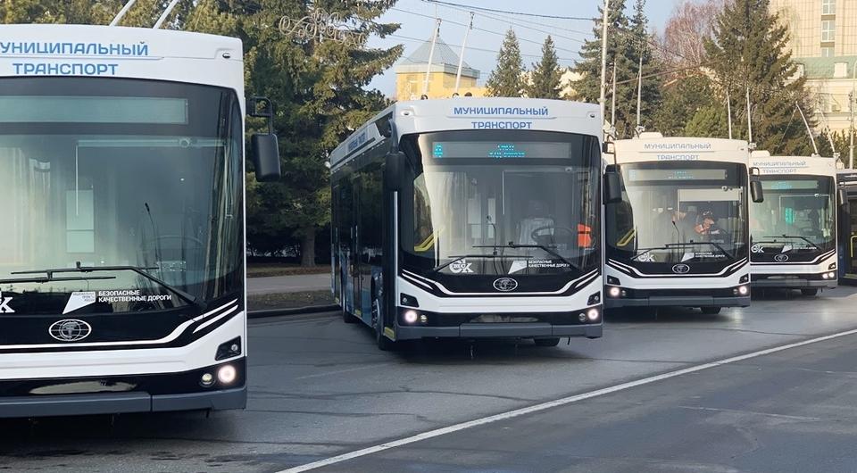 Троллейбусы Адмирал обживаются в Омске