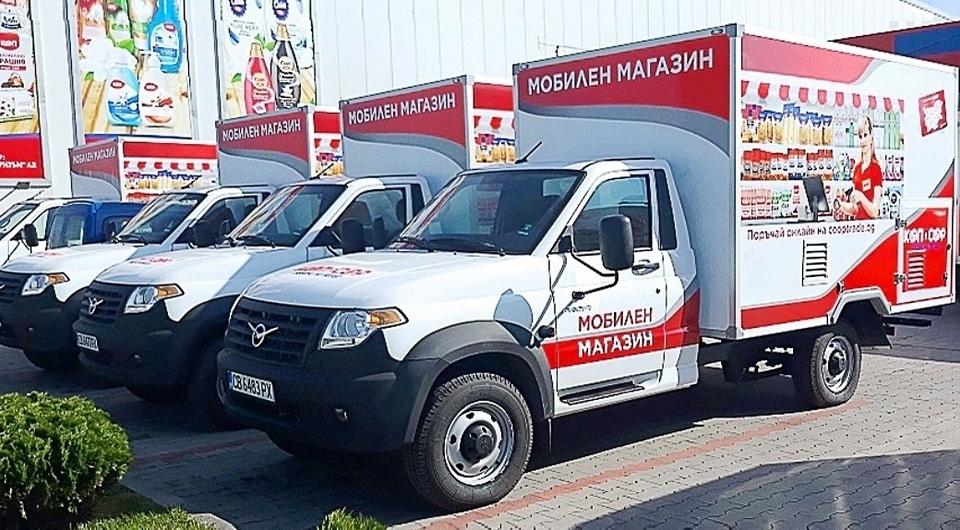 Полноприводные УАЗ Профи экспортированы в Болгарию