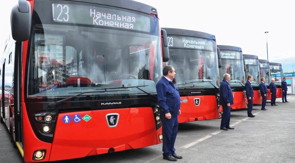 Газовые автобусы НЕФАЗ для Казани и Екатеринбурга
