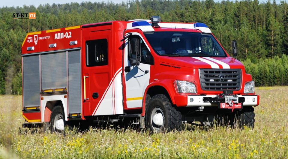 Садко NEXT получил профессию пожарного