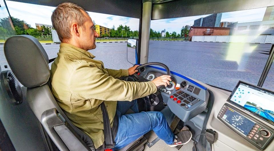 Сымитировать автобус: тренажеры для Мосгортранса