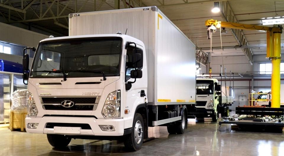 АВТОТОР приступил к производству Hyundai Mighty