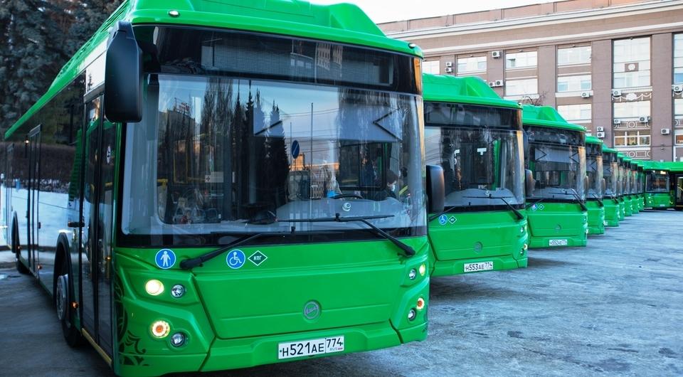 ЛиАЗ-5292.67 CNG для автобусных маршрутов Челябинска