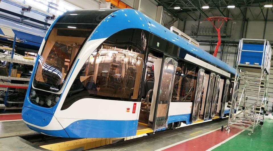 В Энгельсе сделан первый кузов трамвая