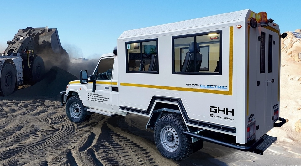 Tembo 4x4 E-LV: электрическая новинка подземного транспорта