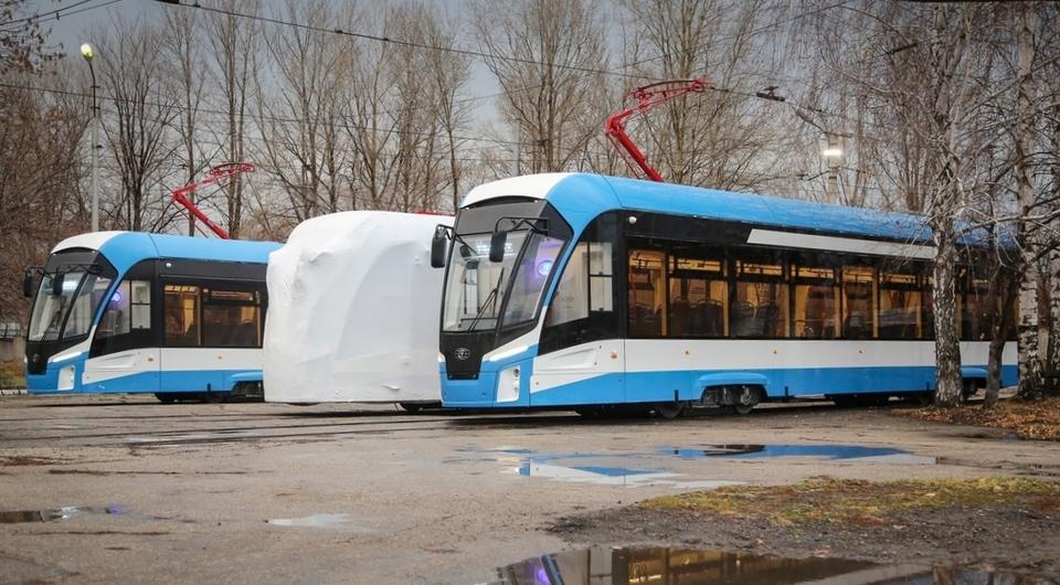 ПК Транспортные системы поставили трамваи в Ульяновск