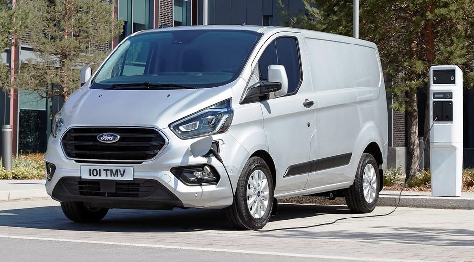 Гибридные фургоны: Ford провел испытания в Лондоне