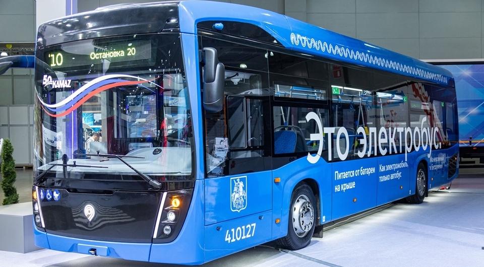 КАМАЗ: еще сто электробусов для Москвы