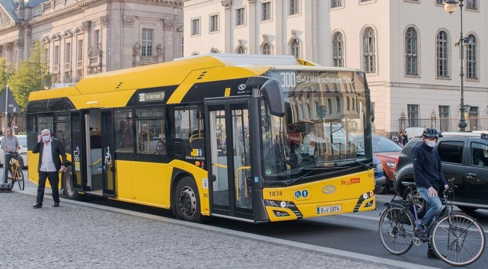 Электробусы Solaris Urbino 12 поставлены в Берлин
