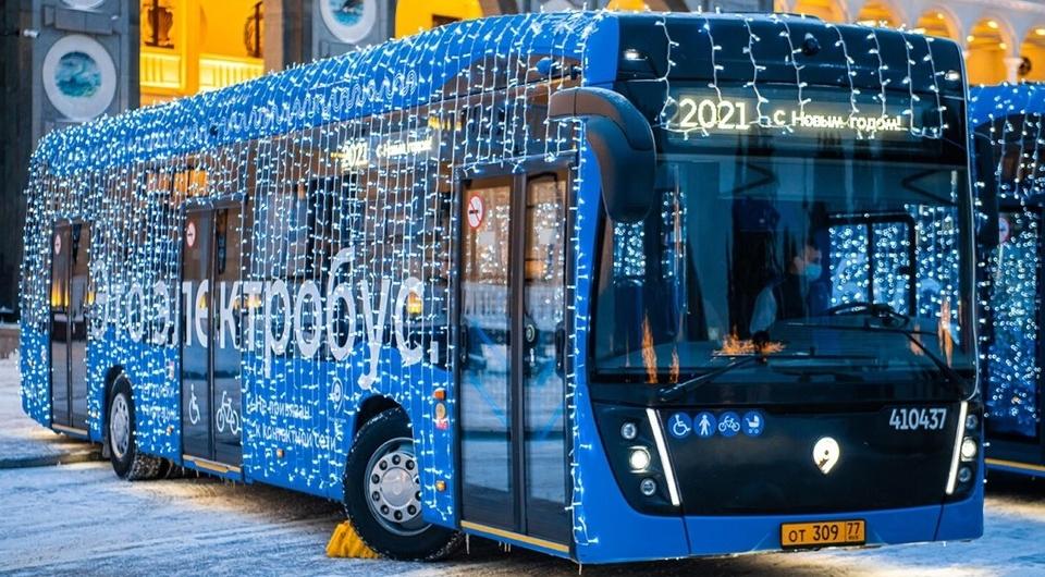 Электробусы КАМАЗ: выпуск вырастет в два раза