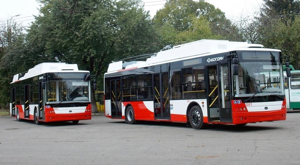 Троллейбусы Богдан поставлены в Луцк