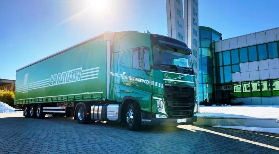 Тысяча Volvo FH с I-Save для Lannutti Group