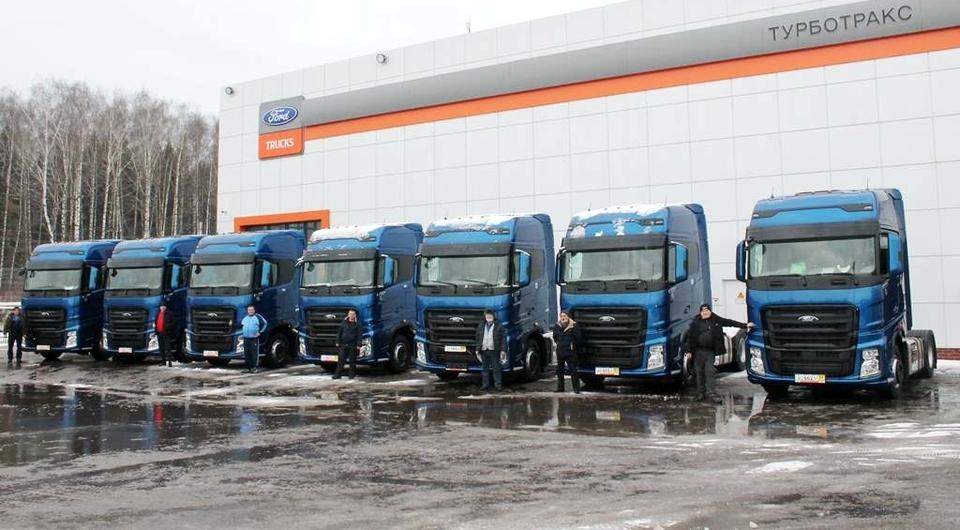 Десять Ford Trucks F-MAX для «ДИО Логистик»