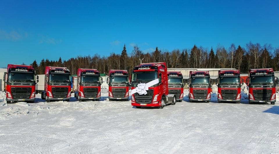Тысячный тягач Volvo для SDS Trans
