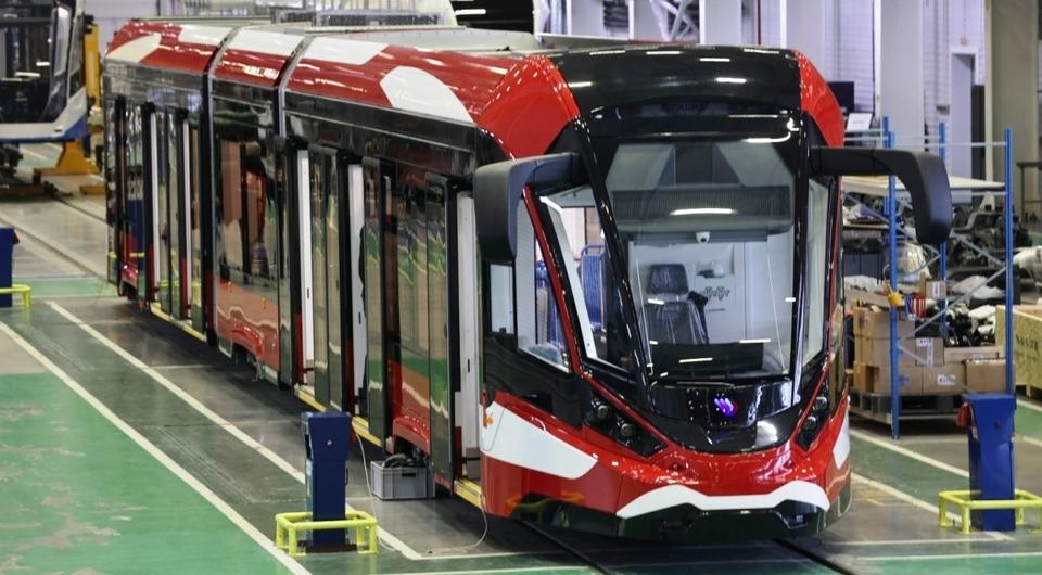 Санкт-Петербург получит трамваи Витязь-Ленинград