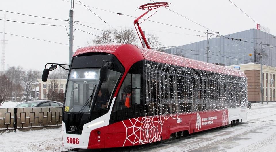 Трамваи Львенок поставлены в Пермь