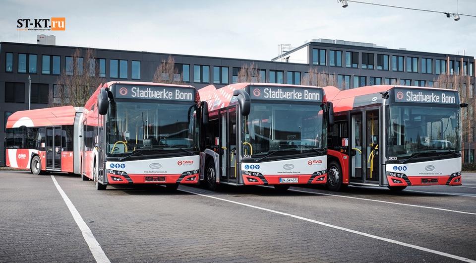 Solaris в 2020 году: рост поставок и лидерство по электробусам