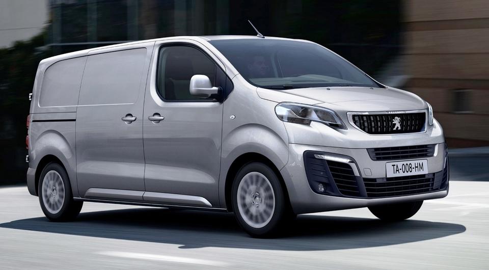 Peugeot Expert и Citroen Jumpy: теперь с автоматом