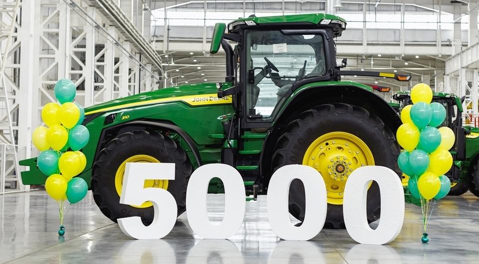 5000 тысяч John Deere, сделанных в Оренбурге