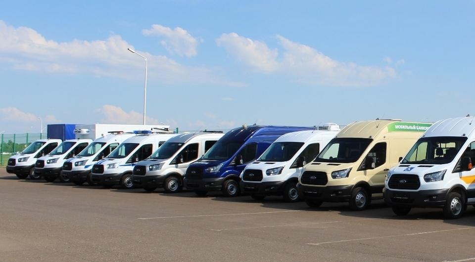 Ford Transit обновил онлайн-витрину